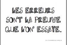 Citations françaises / Ce tableau comprend des citations qui sont francophones de toutes sortes qui sont partagées par d'autre tableau.