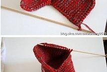 Knitting. Footwear.