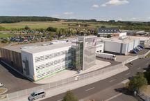 Luftbilder - TECHNOLIT / Wir haben von unserem Firmengelände Außenaufnahmen mit einer Drohne gemacht. Vielen Dank an das Design-Büro Frische Milch aus Fulda.