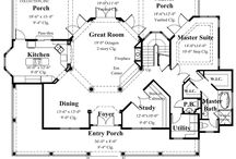 Our Most Pinned Floor Plans - Sater Design Collection / These floor plans are Pinterest favorites.
