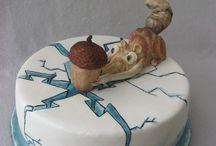 ice age 3 cakes