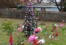 Flamingo Christmas / by Megan Macefield
