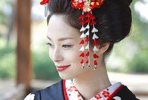 新日本髪 髪飾り