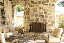 Interior stone work