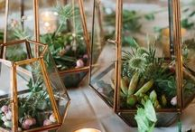Geometric Shapes in Your Wedding