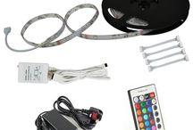 Tiras LED / Tiras LED para usos en casa, oficina, industria y exteriores
