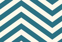 Chevron / Chevron patterned wallcoverings