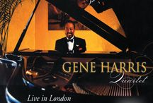 Gene Harris / Jazz pianist, Gene Harris / by Resonance Records