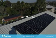 Solar Panels / REA's highly efficient panels produce more power meaning more production and more return on investment.