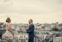 10th Wedding Anniversary Vows Renewal in Paris / This was our 10th Wedding Anniversary shot in Paris by Sassy from http://assassynation.co.uk/