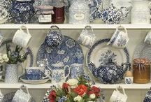 Blauw-wit servies / Blauw servies