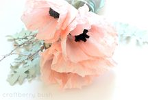 Pretty Paper Flowers / by I Do Deals (Dinah)