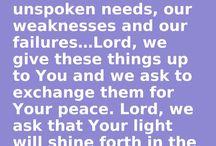 Prayer and Promises