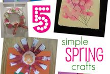 Spring crafts / by Christine Milas