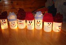 svietiaci snehuliaci