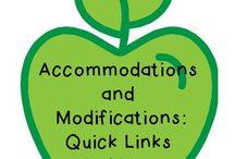 Accomidations/Modifications