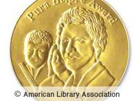 Pura Belpré Award Winners / The award is named after Pura Belpré, the first Latina librarian at the New York Public Library. The Pura Belpré Award, established in 1996, is presented annually to a Latino/Latina writer and illustrator whose work best portrays, affirms, and celebrates the Latino cultural experience in an outstanding work of literature for children and youth.