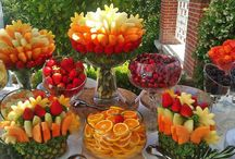 Arranjos de Frutas/legumes