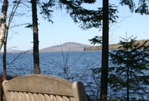 Rangeley, Maine / This year round travel destination has something to do in every season. From watersports to hiking to cross country skiing, if you like adventure this is the spot for you. Check out this board for more ideas!