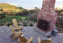 Cape Cod Outdoor Spaces / Fire pits, patios, water views = all places to relax on Cape Cod, Martha's Vineyard and Nantucket
