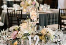 Blush And Celadon Wedding