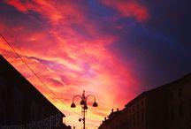 Adorable Sunshine / #Sunshine #tramonto #adorableBelluno #landscape