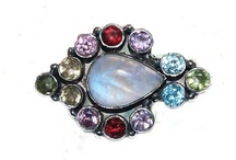 Jewelry: Silver Brooches