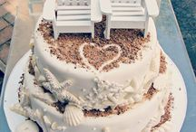 Beach wedding cakes / Beach wedding cakes