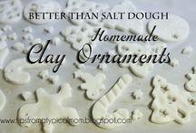 Salt Dough ornaments / by Jessica Mattson