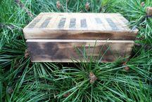 decoupage / Ruční práce z papíru a dřeva