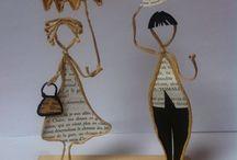 scultures en papier