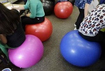 Yoga Ball Chairs / A new style of furniture  / by Susan Trudeau