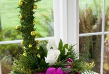 Christmas Florals / Floral arrangements for Christmas