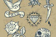 Old School Tetování