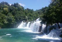 Krka Wasserfälle / Entdecken Sie die berühmten Wasserfälle im Nationalpark Krka in Kroatien.