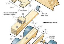 Wooden toy truck plans