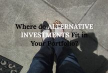 Alternative Investment Information / Information for investors considering investing in alternative investments.
