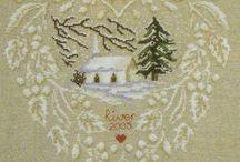 cross stitch, punto croce , haft krzyzykowy