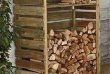 αποθήκη ξύλων