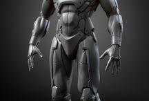 Futuristic armour
