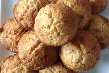 Sweets - Snacks / Taart, cake, koek, gezonde tussendoortjes