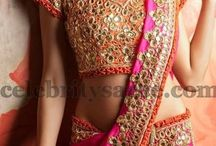 Sarees and blouses