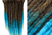 OTHER Synthetic crocheted Dreadlocks /  If the common set sin't on our listings – don't worry! All of are orders are custom – just write to us and we will prepare a set special for you, exactly how you want to have it :)