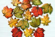 Autumn cakes, decoration & wreaths