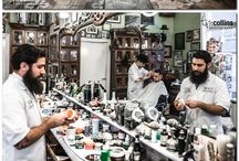 Barber shop / Everything inspiring and nostalgic about barbering