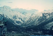 Snow sheathed Alps of Chitkul / Travel Quotes