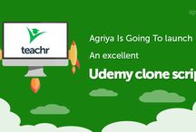 Agriya Teachr - Udemy Clone Script / Agriya's Udemy clone script, online teaching software helps you to start up your own online course learning platform and provide a corporate training