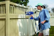 Home Improvement Projects / Use Graco's TrueCoat handheld airless paint sprayer to get the most out of your painting projects.  Professional finish in the palm of your hand!