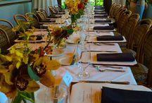 Special Events / We are the perfect venue to host your wedding, business luncheon or meeting. With an open dining area or a variety of private halls, we will find the perfect space to host your party.