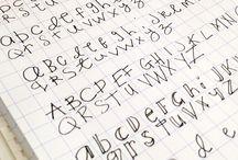 Handwriting ideas